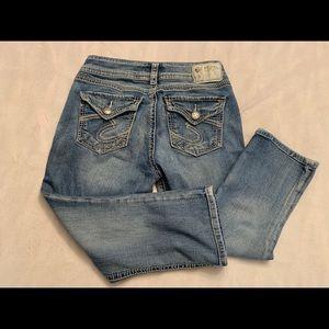 Silver Jeans Capri